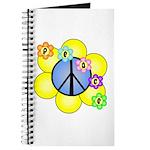 Peace Blossoms /blue Journal