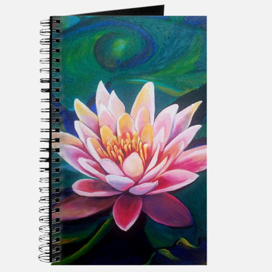 Cute Waterlily Journal