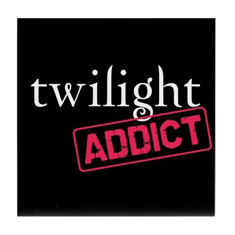 Twilight Addict Tile Coaster