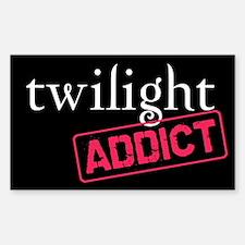 Twilight Addict Rectangle Decal