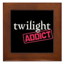 Twilight Addict Framed Tile