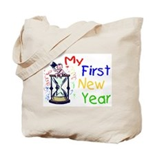 My First New Year Tote Bag