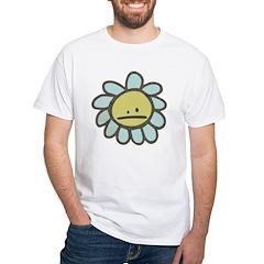 Sad Blue Flower Cartoon Shirt