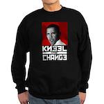 Obama Kneel Before Change Sweatshirt (dark)