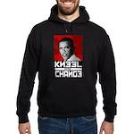 Obama Kneel Before Change Hoodie (dark)