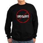 No Socialists Sweatshirt (dark)