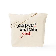 Jasper Hale Yes Tote Bag