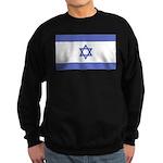 Israeli Flag Sweatshirt (dark)