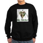 I Love My Soldier Sweatshirt (dark)