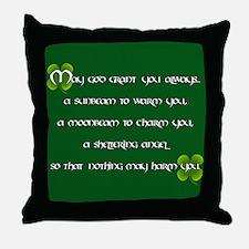 Irish Blessing - Throw Pillow