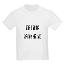 Eating Machine Black T-Shirt