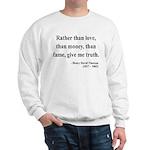 Henry David Thoreau 37 Sweatshirt