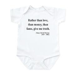 Henry David Thoreau 37 Infant Bodysuit