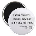 "Henry David Thoreau 37 2.25"" Magnet (10 pack)"