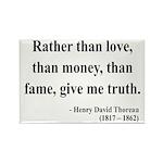 Henry David Thoreau 37 Rectangle Magnet