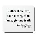 Henry David Thoreau 37 Mousepad