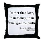 Henry David Thoreau 37 Throw Pillow