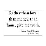 Henry David Thoreau 37 Mini Poster Print