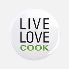 "Live Love Cook 3.5"" Button"