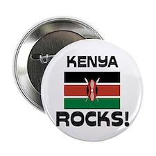 "Kenya Rocks! 2.25"" Button (10 pack)"