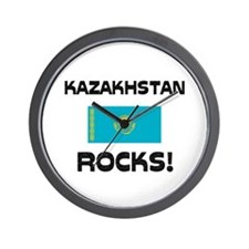 Kazakhstan Rocks! Wall Clock