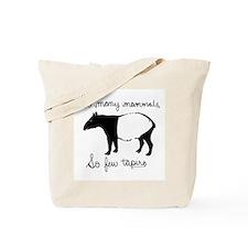 So few Tapirs Tote Bag