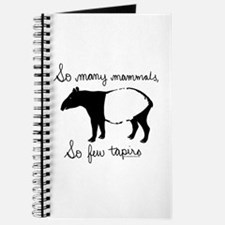 So few Tapirs Journal