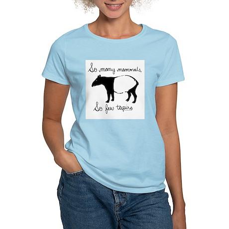 So few Tapirs Women's Pink T-Shirt