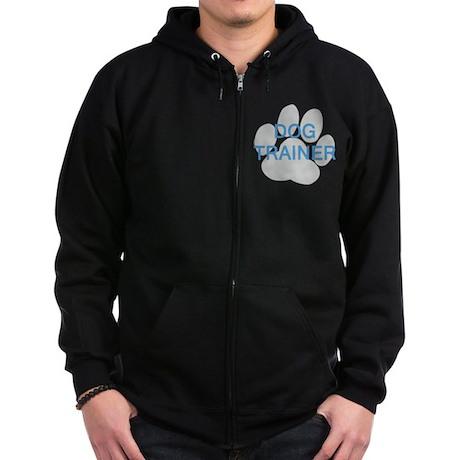 Dog Trainer Zip Hoodie (dark)