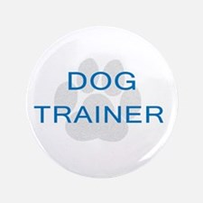 "Dog Trainer 3.5"" Button"