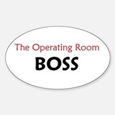 OR BOSS Oval Decal