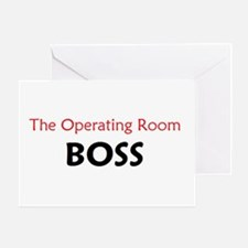 OR BOSS Greeting Card