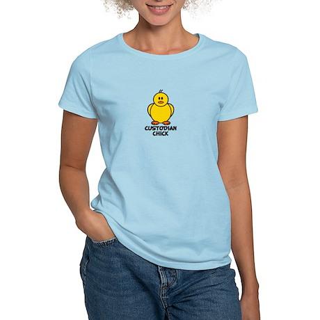 Custodian Chick Women's Light T-Shirt