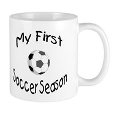 My First Soccer Season Mug