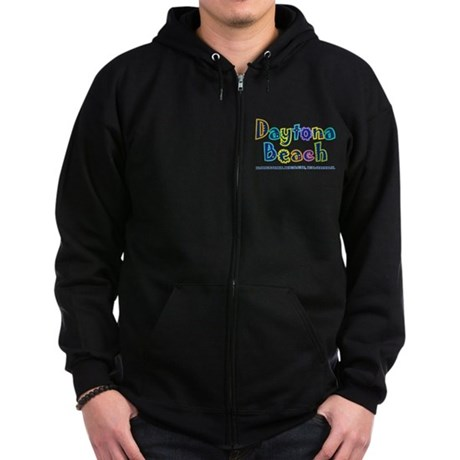 Tropical Daytona - Zip Hoodie (dark)
