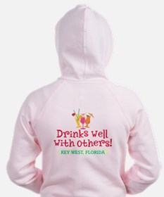 Drinks Well With Others - Zip Hoodie