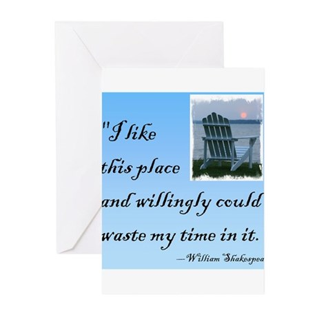 I like this place (2) Greeting Cards (Pk of 10)