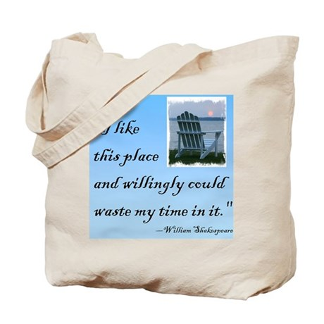 I like this place (2) Tote Bag
