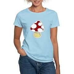 Funky Cartoon Mushroom T-Shirt