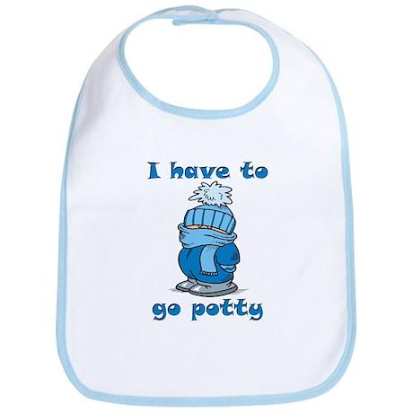 Go Potty Bib