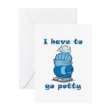 Go Potty Greeting Card