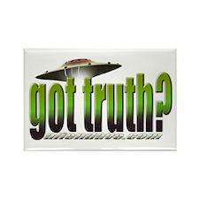 got truth? green Rectangle Magnet