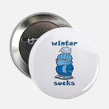 """Winter Sucks 2.25"""" Button"""