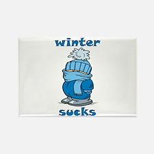 Winter Sucks Rectangle Magnet