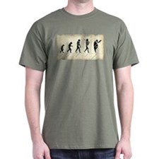 Evolution of Man: Monkey Style Kung Fu T-Shirt