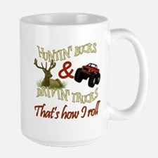 Drivin' Trucks & Huntin' Bucks Mug