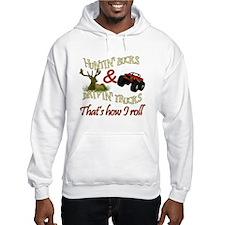 Drivin' Trucks & Huntin' Bucks Hoodie