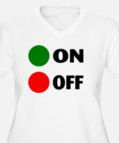 On Off Button T-Shirt