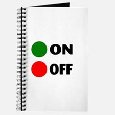 On Off Button Journal