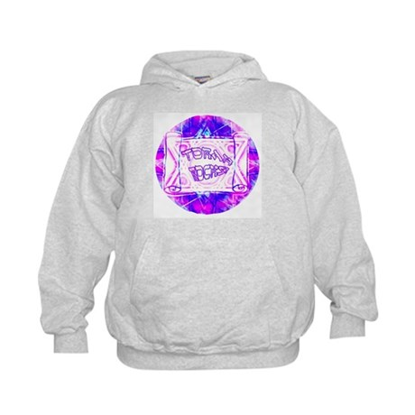 Torah Rocks Blue & Purple Kids Hoodie